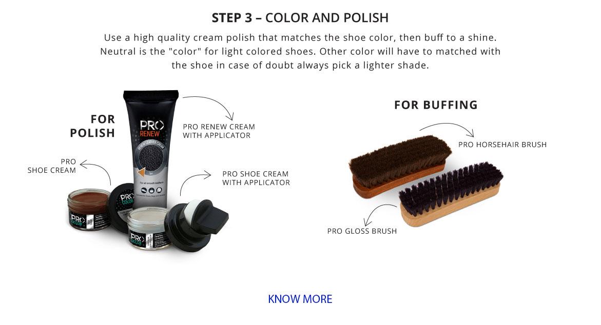 Shoe Color and Polish
