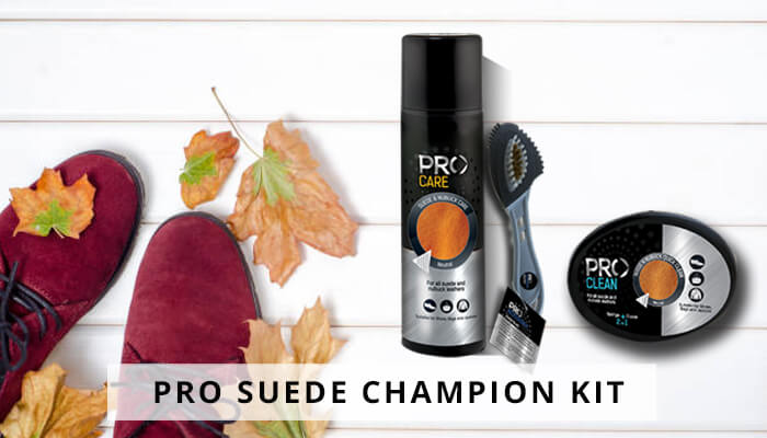 Pro Suede Champion Kit